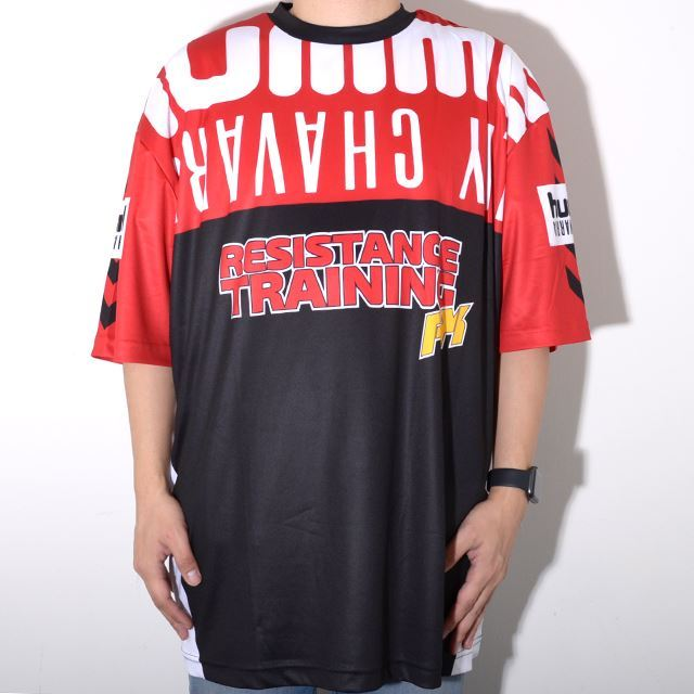 ヒュンメル ハイブ ウィリー・チャバリア HUMMEL HIVE WILLY CHAVARRIA メンズ ビッグシルエットTシャツ HMLWILLY YELL T-SHIRT SS TRUE RED  HM203819-3062
