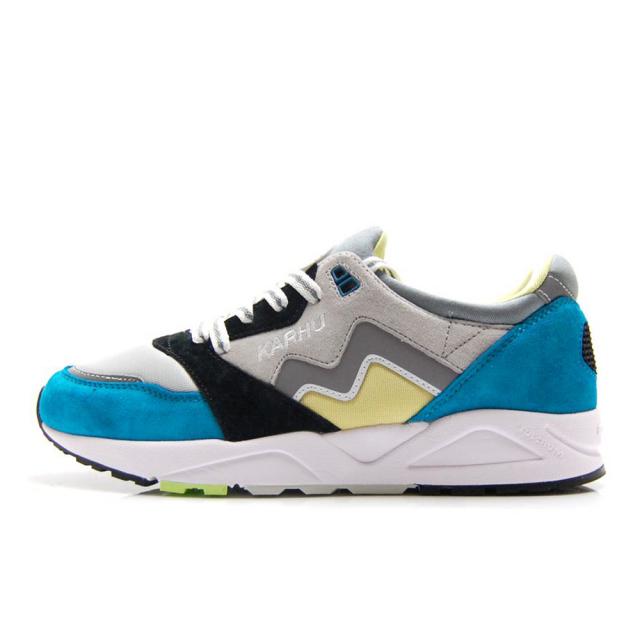 カルフ アリア 95 KARHU ARIA 95 LAKE BLUE / LEMONADE メンズ スニーカー シューズ 靴 KH803048