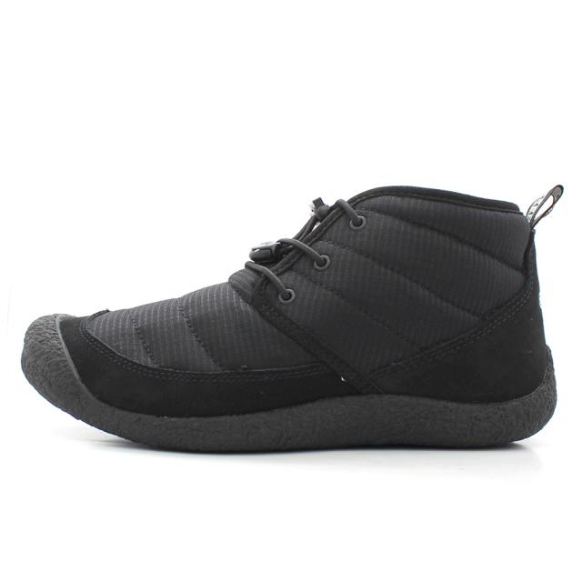 キーン ハウザー ツー チャッカ KEEN HOWSER II CHUKKA BLACK/BLACK メンズ ブーツ スニーカー 1023815