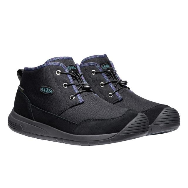キーン フッドチャッカ ウォータープルーフ KEEN HOODCHUKKA WP BLACK / RAVEN メンズ ブーツ 防水 暖かい 1024250