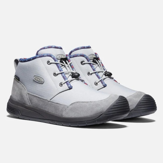 キーン フッドチャッカ ウォータープルーフ KEEN KEEN HOODCHUKKA WP GRIFFIN/STEEL GREY メンズ ブーツ 防水 暖かい 1024464