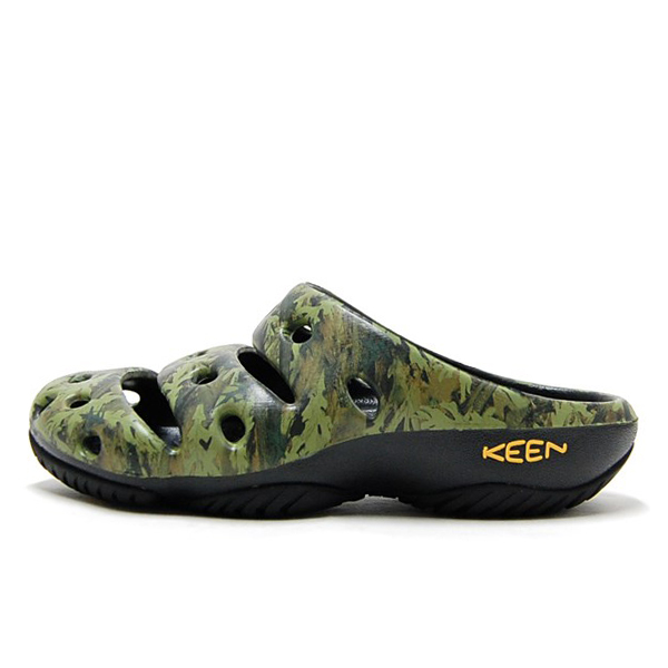 KEEN Yogui Arts Camo Green 1002034 1003581