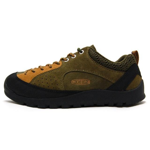 KEEN キーン メンズ スニーカー Jasper Rocks ジャスパー ロックス Military Olive/Cathay Spice M:1017662 [アウトドア/ハイキング/クライミング/山/キャンプ/トレッキング/トラベル/旅行/ローカット]