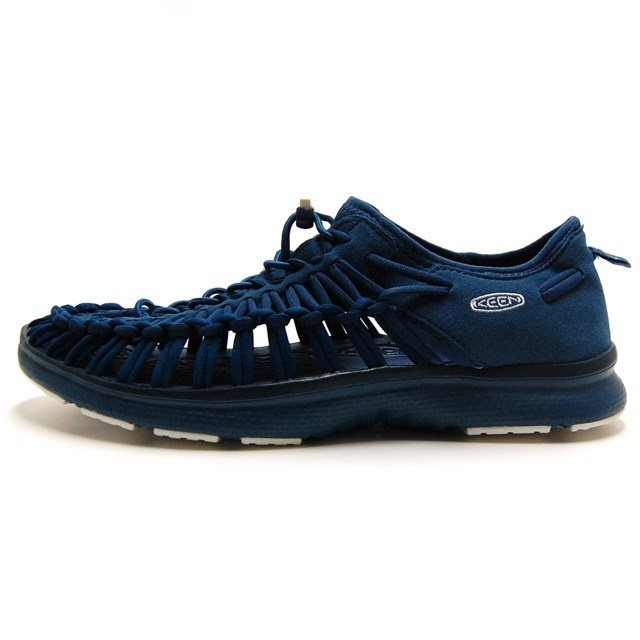 KEEN キーン メンズ サンダル UNEEK O2 ユニーク オーツー Majolica Blue/Legion Blue 1017857 [アウトドア/海/ビーチ/キャンプ/フェス/スポーツサンダル/軽量]
