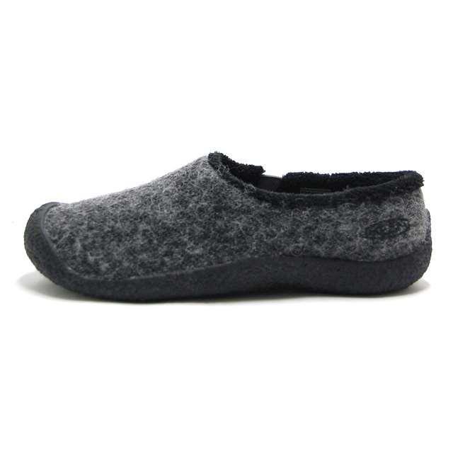 【30%OFF セール】 キーン KEEN レディース スニーカー ハウザー スライド ウール Howser Slide Wool  スリッポン Black Wool 1017983