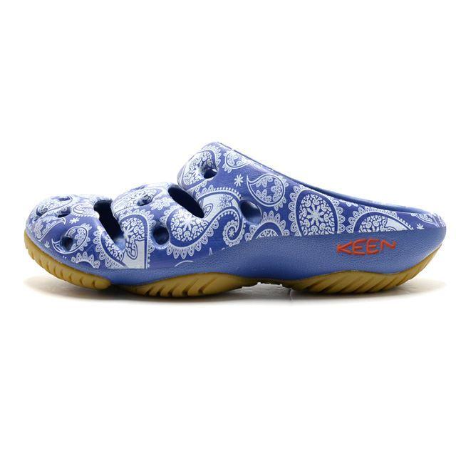 KEEN Yogui Arts Blue Raven Paisley M-1018192 W-1018214