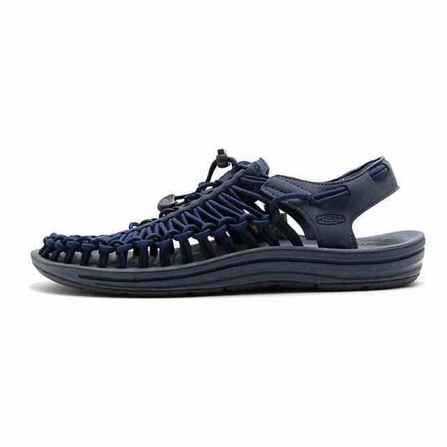 キーン KEEN スニーカー メンズ UNEEK ユニーク DARK SLATE /BLUE NIGHT 1019935