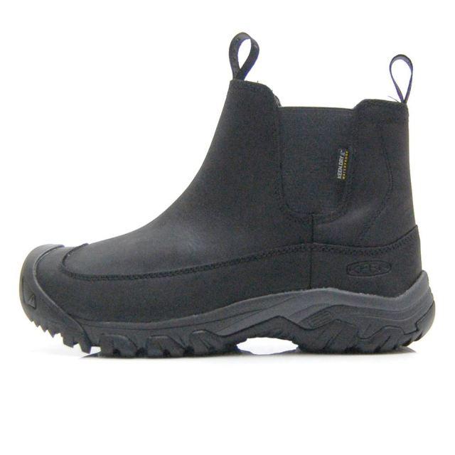 キーン アンカレッジ ブーツ スリー ウォータープルーフ KEEN ANCHORAGE BOOT III WP BLACK/RAVEN メンズ ブーツ 1017789