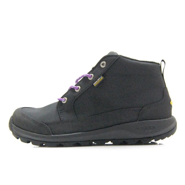 キーン グリーザー チャッカ ナイロン ウォータープルーフ KEEN GLIESER CHUKKA NYLON WP BLACK/BLACK メンズ ブーツ 1021568