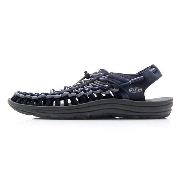 【30%OFF SALE】キーン ユニーク KEEN UNEEK Blue Nights/Steel Grey メンズ サンダル 1020781