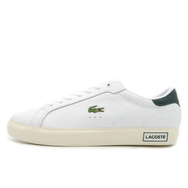 ラコステ LACOSTE POWER COURT WHT / DKGRN メンズ スニーカー SM00311-1R5