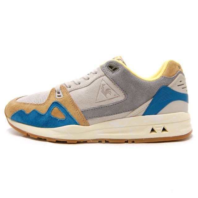le coq sportif ルコックスポルティフ メンズ スニーカー LCS R 1000 RETRO AFFICHES GRAY MORN グレー 1710283 [世界限定/取扱店舗限定/LIMITED EDITION/スポーティー/ランニング/レトロ/国内正規販売店/Authorized Dealer]