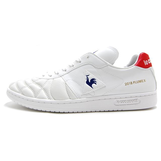 le coq sportif PLUME X WHITE FOOTBALL PACK LIMITED MODEL Direction by mita sneakers QL1LJC10WH