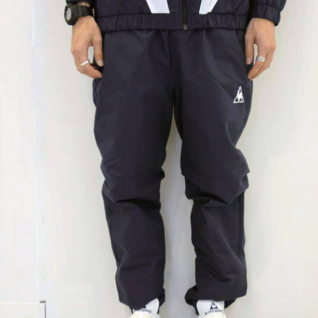 le coq sportif  NYLON PANTS FOOTBALL PACK NVY QLMLJG20MT