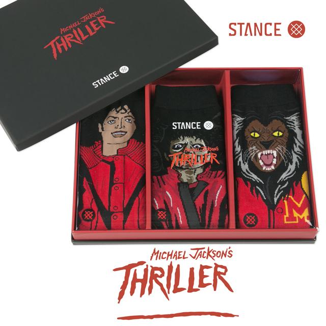 STANCE スタンス THRILLER 3 PACK MICHAEL JACKSON スリラー 3パック マイケルジャクソン MD17PKTHR