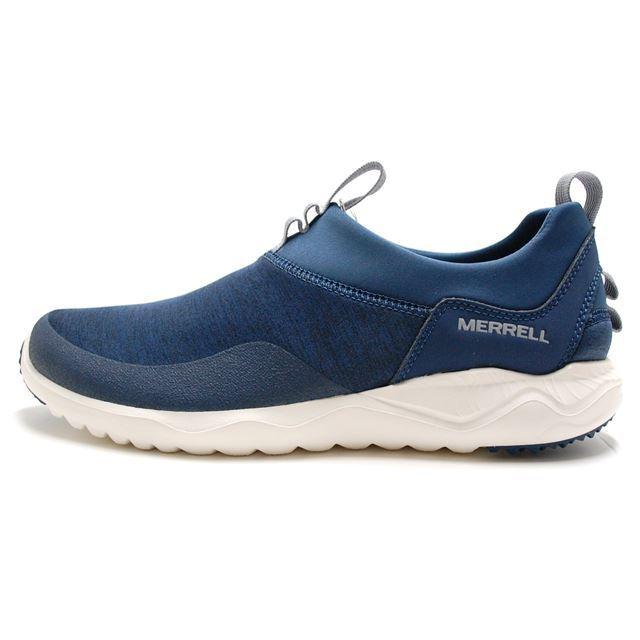 MERRELL メレル メンズ スリッポン 1SIX8 MOC 1シックス8 モック Blue Wing J598493 [ブルー/アウトドア/軽量/スポーツシューズ/ウォーキング]