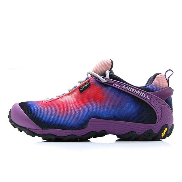 メレル MERREL トレッキングシューズ レディース CHAMELEON 7 STORM XX GORE-TEX カメレオン 7 ストーム XX ゴアテックス 登山靴 フェス Purple J16900