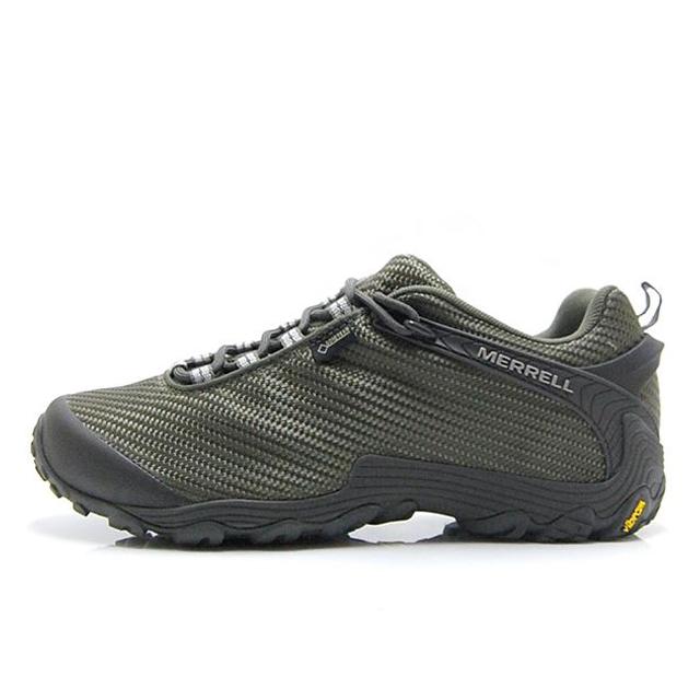 メレル MERREL トレッキングシューズ メンズ CHAMELEON 7 STORM GORE-TEX カメレオン 7 ストーム ゴアテックス 登山靴 フェス DUSTY OLIVE J31133