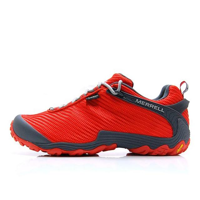 【30%OFF SALE】 メレル MERREL トレッキングシューズ メンズ CHAMELEON 7 STORM GORE-TEX カメレオン 7 ストーム ゴアテックス 登山靴 フェス SPICY ORANGE J31135