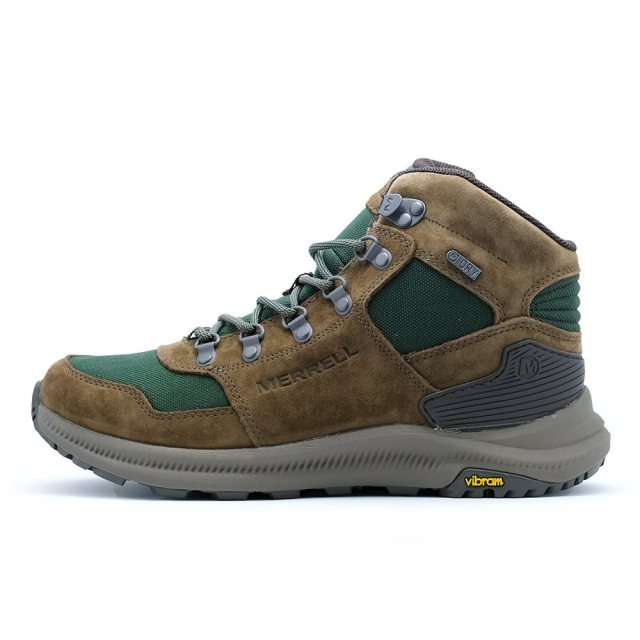 メレル オンタリオ 85 ミッド ウォータープルーフ MERREL ONTARIO 85 MID WATERPROOF FOREST メンズ ブーツ J16929