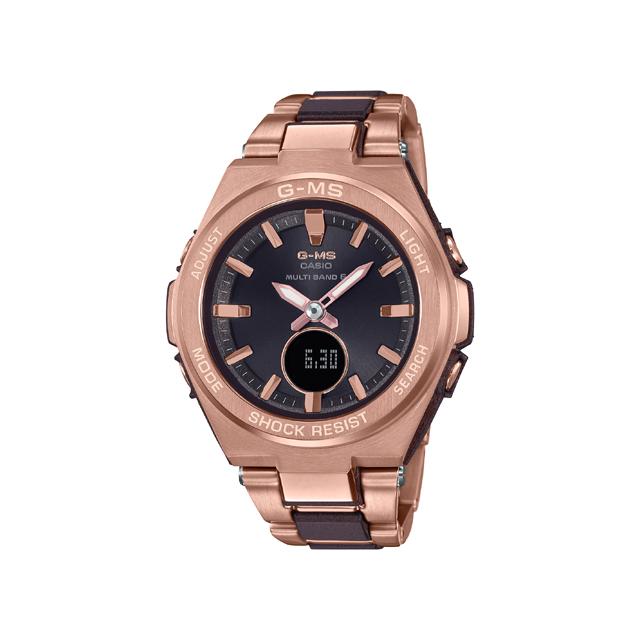 Baby-G ベビージー CASIO カシオ レディース 腕時計 G-MS MSG-W200CG-5AJF [BABY-G/ベビージー/GMS/ソーラー/電波]