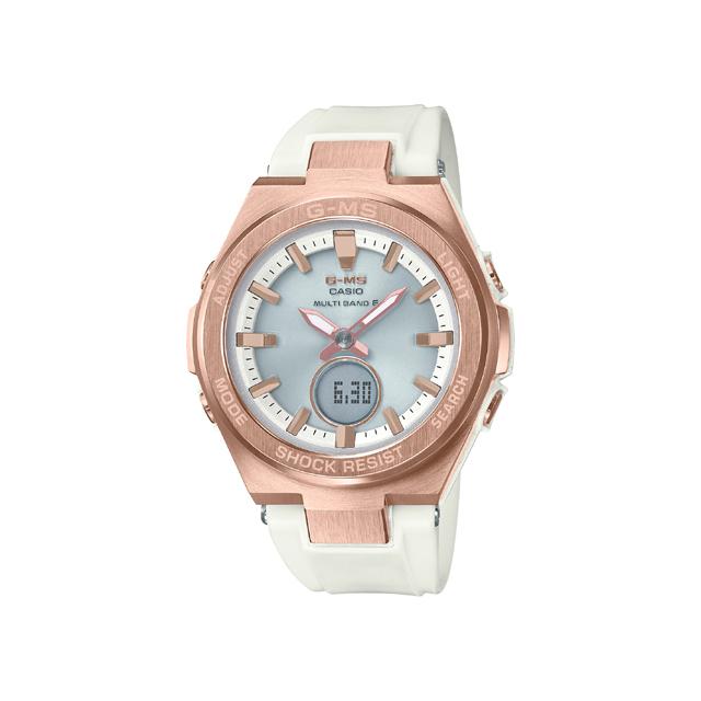 Baby-G ベビージー CASIO カシオ レディース 腕時計 G-MS MSG-W200G-7AJF [BABY-G/ベビージー/防水/腕時計/GMS/電波ソーラー]