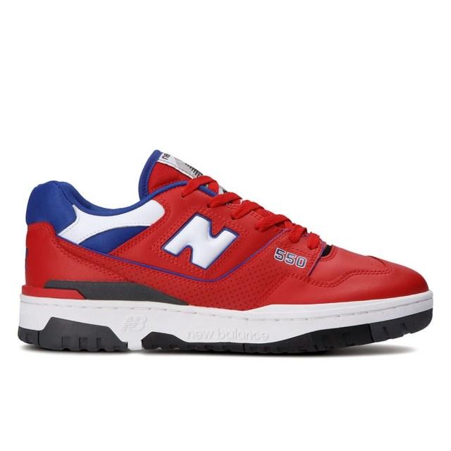 ニューバランス new balance BB550 RED/BLUE メンズ スニーカー バスケットボールシューズ BB550MD1