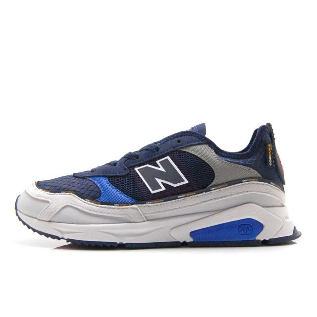 【30%OFF SALE】 ニューバランス new balance X-RACER RE GRAY/NAVY メンズ スニーカー MSXRCTRE