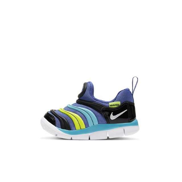 ナイキ ダイナモ フリー NIKE DYNAMO FREE ASTRONOMY BLUE/WHITE-BALTIC BLUE-BLACK キッズ スニーカー 343938-434