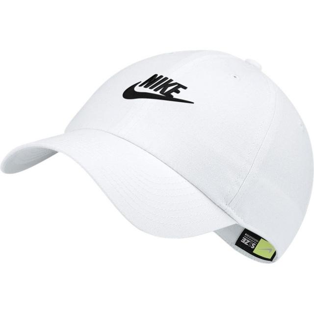ナイキ ヘリテージ86 フューチュラ ウォッシュド キャップ NIKE ホワイト/ホワイト/ブラック メンズ レディース 帽子 913011-100