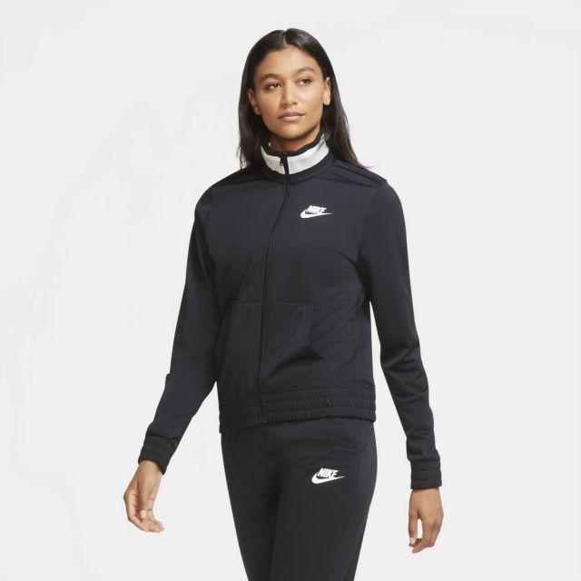 【SALE】 ナイキ NIKE WOMEN'S POLYKNIT JACKET BLACK/WHITE レディース ジャケット CU5929-010