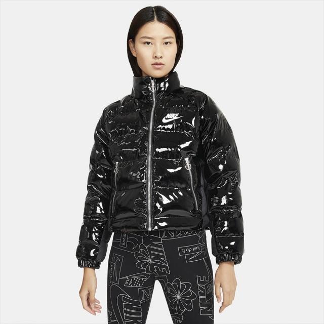 ナイキ アイコン クラッシュ ジャケット NIKE ICON CLASH JACKET ブラック/ホワイト レディース ジャケット CU6713-010