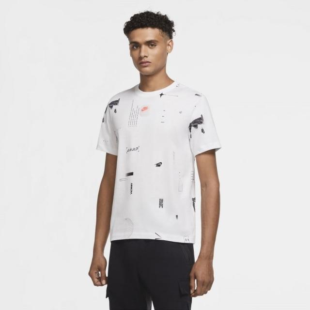 【SALE】 ナイキ ミュージック AOP S/S NIKE ホワイト メンズ Tシャツ CW0409-100