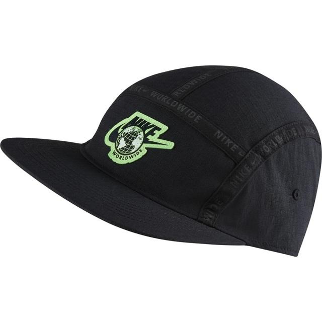 ナイキ AW84 ワールドワイド キャップ NIKE ブラック メンズ レディース 帽子 CW6326-010