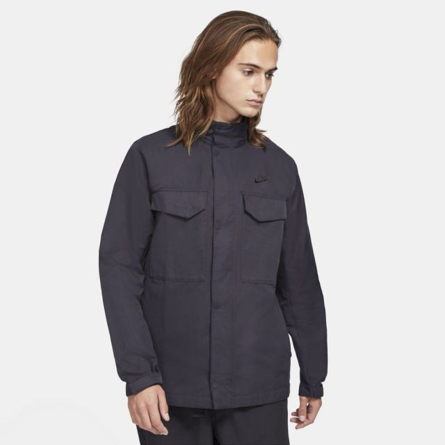 ナイキ CE フィールド ウーブン ジャケット NIKE BLACK/BLACK メンズ ジャケット CZ9923-010