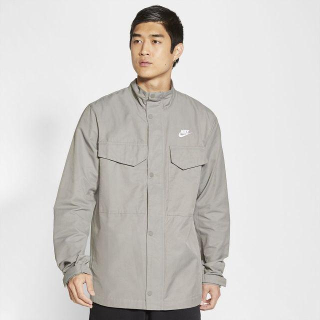 【SALE】ナイキ CE フィールド ウーブン ジャケット NIKE FLAT PEWTER メンズ ジャケット CZ9923-029
