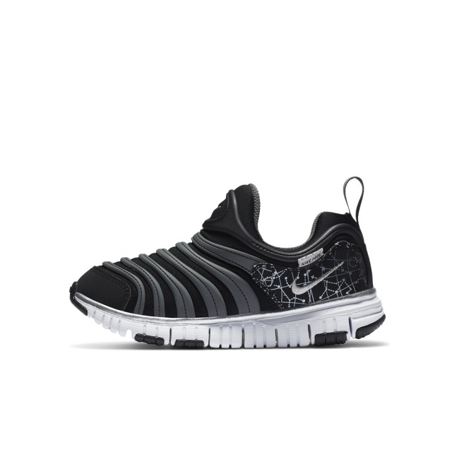 ナイキ ダイナモ フリー NIKE DYNAMO FREE BLACK/METALLIC SILVER-WHITE-IRON GREY キッズ スニーカー DC3272-001