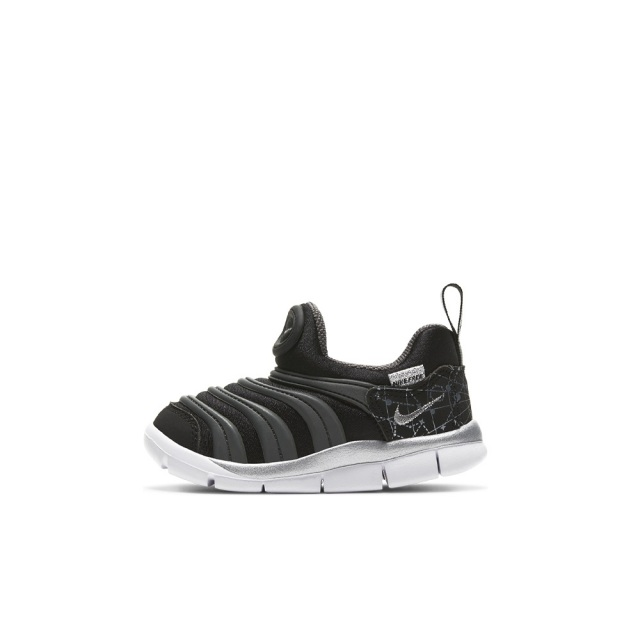 ナイキ ダイナモ フリー NIKE DYNAMO FREE BLACK/METALLIC SILVER-WHITE-IRON GREY キッズ スニーカー DC3273-001