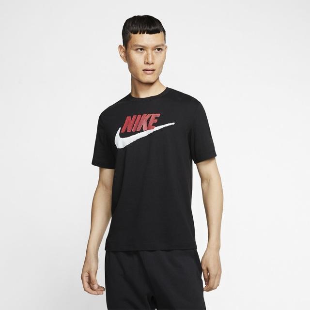 ナイキ ブランド マーク S/S Tシャツ NIKE ブラック メンズ Tシャツ AR4994-013
