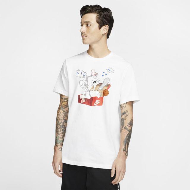 NIKE ナイキ メンズ ウェア シューボックスフォト Tシャツ CU6872-100