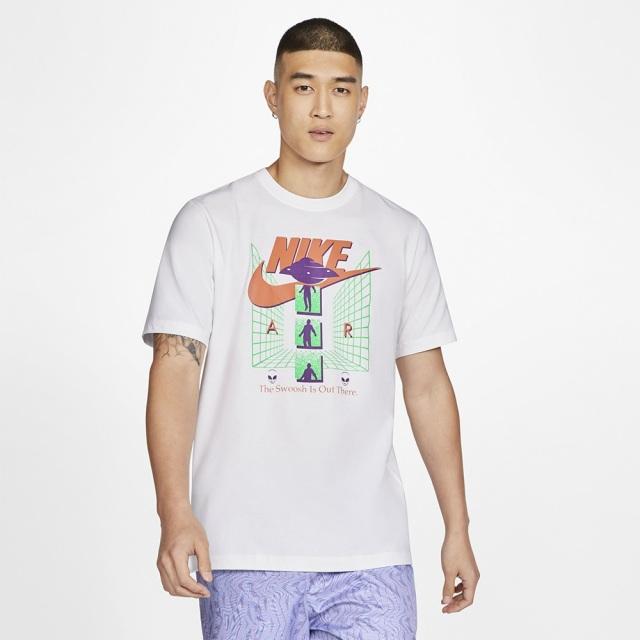 ナイキ スポーツウェア Tシャツ エイリアン アブダクション T NIKE ホワイト メンズ Tシャツ CU6949-100