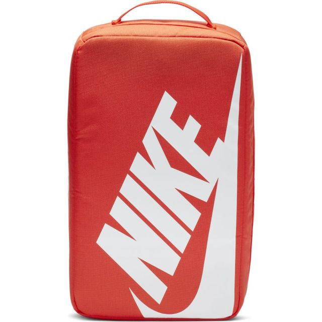 ナイキ シューズボックス バッグ NIKE Shoebox Bag ORANGE/ORANGE/WHITE バッグ アクセサリー BA6149-810