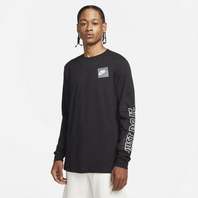 ナイキ NSW JDI GX L/S Tシャツ NIKE NSW JDI GX L/S T-SHIRT BLACK メンズ Tシャツ ロンT DD3377-010