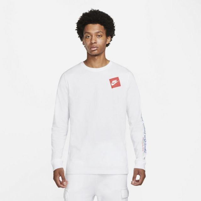 ナイキ NSW JDI GX L/S Tシャツ NIKE NSW JDI GX L/S T-SHIRT WHITE メンズ Tシャツ ロンT DD3377-100