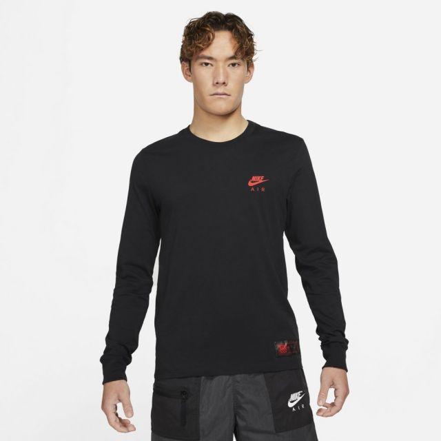 【SALE】 ナイキ NSW メンズ L/S Tシャツ NIKE NSW MEN'S L/S T-SHIRT BLACK メンズ Tシャツ ロンT DJ1380-010