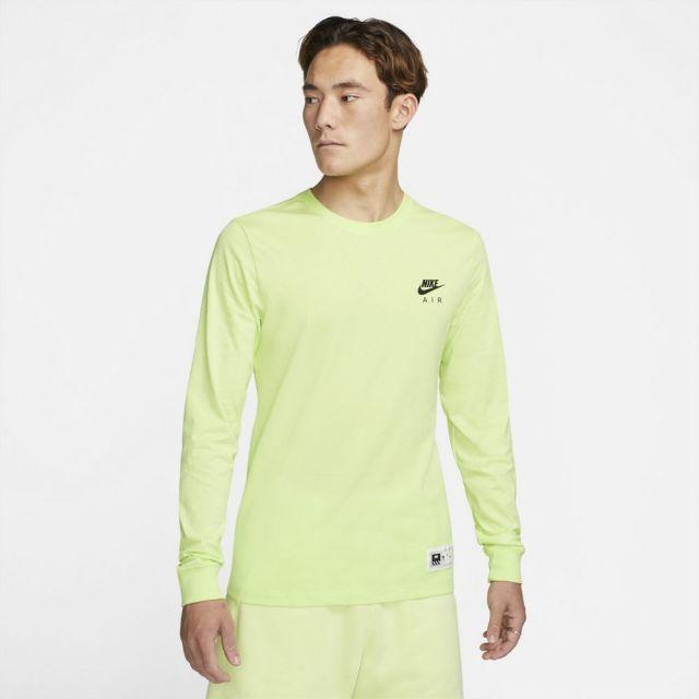 【SALE】 ナイキ NSW メンズ L/S Tシャツ NIKE NSW MEN'S L/S T-SHIRT LT LEMON TWIST メンズ Tシャツ ロンT DJ1380-736