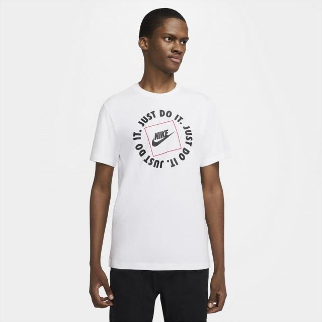 ナイキ NSW JDI ハイブリッド 1 S/S Tシャツ NIKE WHITE メンズ Tシャツ DA0239-100