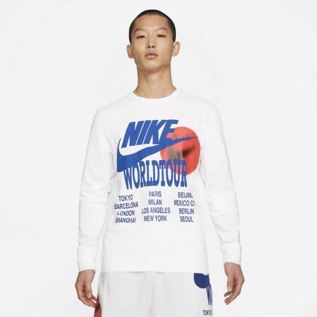 ナイキ ロングスリーブ トップ NIKE ホワイト メンズ DA0630-100