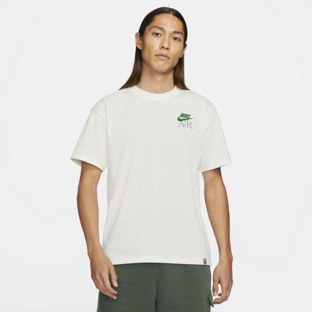ナイキ スポーツウェア エア Tシャツ NIKE ピュア/ラッキーグリーン メンズ Tシャツ サステナブル DB6094-901