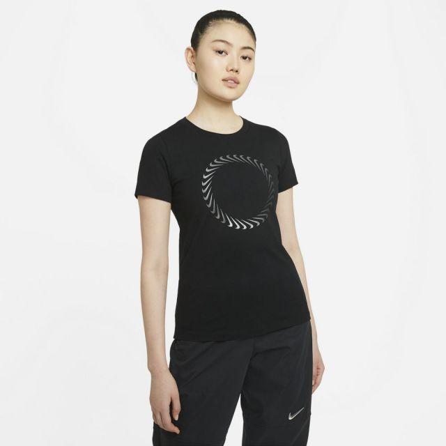 ナイキ スポーツウェア Tシャツ NIKE ブラック レディース Tシャツ DD1231-010